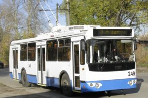 В Новороссийске запустили троллейбус в Шесхарис