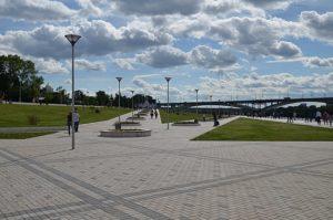 В Новороссийске реконструируют набережную имени адмирала Серебрякова