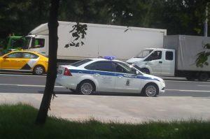 В Новороссийске в ДТП пострадали два полицейских патрульных автомобиля