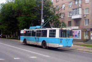 В Новороссийске на ходу загорелся троллейбус